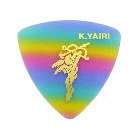 K.YAIRI Rainbow Triangle Medium エンジェル ギターピック×10枚