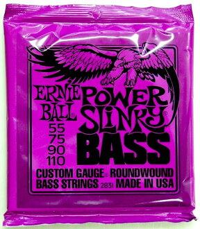 ERNIE BALL 2831/POWER SLINKY BASS×2SET