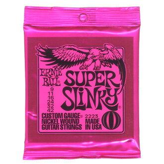 *3套ERNIE BALL 2223 Super Slinky電子吉他弦