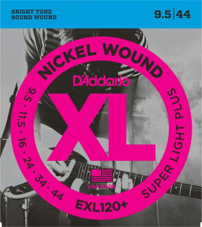 D'Addario EXL120+일렉트릭 기타현×3 세트