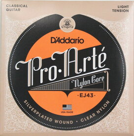 D'Addario EJ43×5SET クラシックギター弦