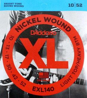 D'Addario EXL140電子吉他弦×5SET