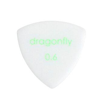 *10張dragonfly PICK TR 0.6 WHITE吉他選取