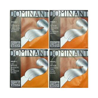 Thomastik Dominant 4/4小提琴弦安排E線鋼鐵·鋁/球結束