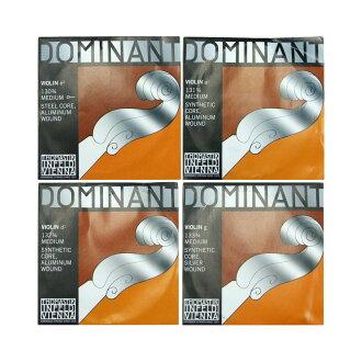 Thomastik Dominant 3/4分数小提琴弦安排E线钢铁·铝/球结束