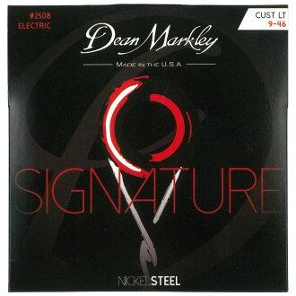 Dean Markley 2508 Custom Light Nickel Steel 9-46일렉트릭 기타현×3 세트