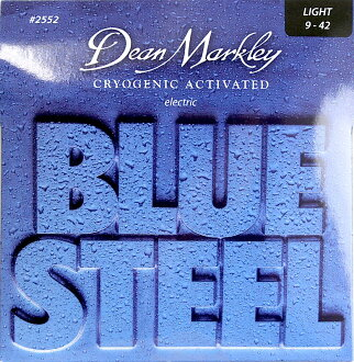 Dean Markley 2552 Light Blue Steel 9-42일렉트릭 기타현×3 세트