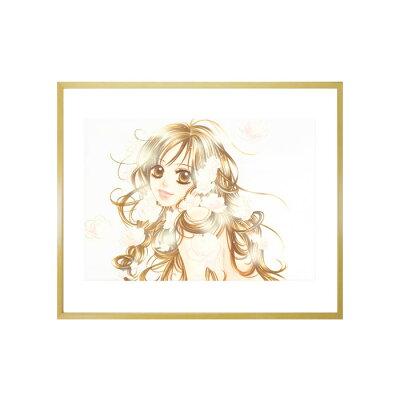 宮坂香帆先生直筆サイン入り!超高画質複製原画「『彼』firstlove」2002年バージョン