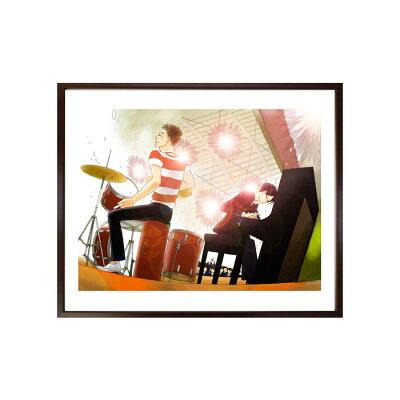 映画化記念!小玉ユキ先生直筆サイン入り超高画質複製原画プリマグラフィ「坂道のアポロンA」(サイズ中)