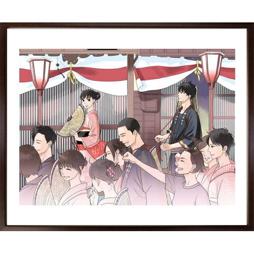 「坂道のアポロン」映画化記念!小玉ユキ先生直筆サイン入り超高画質複製原画プリマグラフィ「月影ベイベB」(サイズ中)