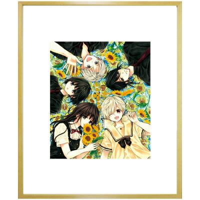 くまがい杏子先生直筆サイン入り!超高画質複製原画プリマグラフィー「チョコレート・ヴァンパイアB」(サイズ中)