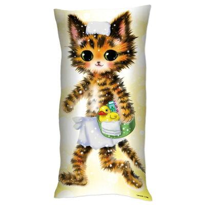 「猫mix幻奇譚とらじ」リアルサイズとらじ抱き枕