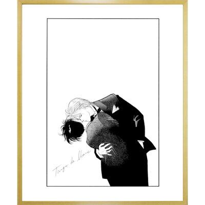 吉田秋生先生超高画質複製原画プリマグラフィ「BANANAFISHA」(サイズ小、モノクロ)