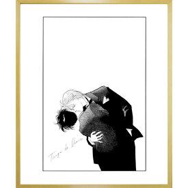 吉田秋生先生超高画質複製原画プリマグラフィ「BANANA FISH A」(サイズ小、モノクロ)