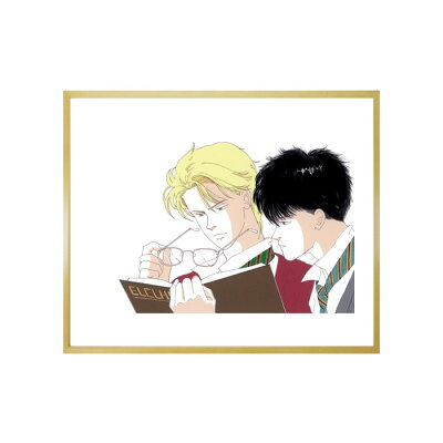 吉田秋生先生超高画質複製原画プリマグラフィ「BANANAFISHD」(サイズ八つ切、カラー)