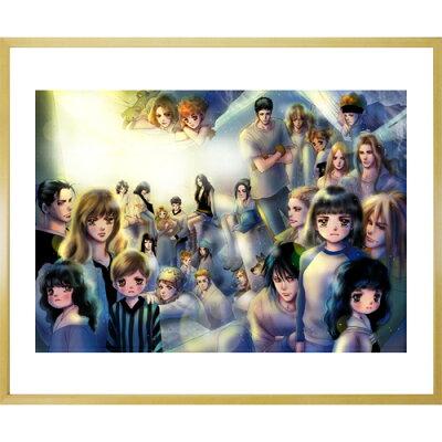 田村由美先生直筆サイン入り超高画質複製原画プリマグラフィ「7SEEDSB」(サイズ中)