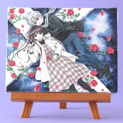 岩本ナオ先生「マロニエ王国の七人の騎士」イーゼル付きキャンバスアートA(中)