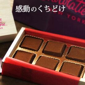 フィフスアベニュー チョコレート 5th Avenue Chocolatiere 生チョコ レギュラー シャンパン 6個入り クール便 バレンタイン ホワイトデー 予約販売