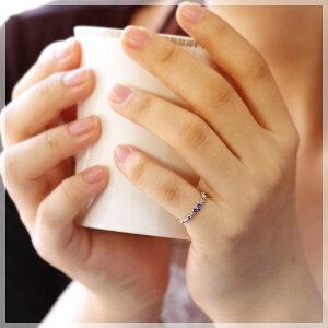ピンキーリング18k9月誕生石ブルーサファイアハートブルーグラデーションリング指輪10kK10/K18ホワイトゴールドサファイヤリングサイズマイナス号数対応0号1号2号3号4号5号6号から15号「ユウェール・リゼ」モデル