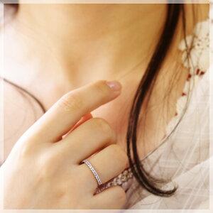 12月誕生石タンザナイトハーフエタニティリング(指輪)「セット・ボヌール」【K10ホワイトゴールド(K10WG)】送料無料国産日本製モデル