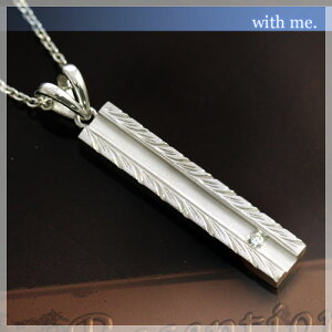 【with me.】Lau(ラウ)ラインバー ネックレス ハワイアンジュエリー調(Lady's)【コンビニ受取対応商品】
