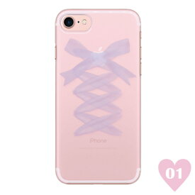 RACE UP RIBBON 〈 クリアケース 〉 Ciara シアラ かわいい スマホ スマートフォン ケース スリム iPhoneXS iPhoneXSMAX iPhoneX iphone8 iphone8plus iphone7 iphone7plus iphone6 iphone6s 可愛い