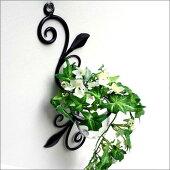アイアン壁掛けガラスカップシングル壁掛けフラワーベースアンティーク壁飾りウォールデコレーション壁面インテリアお洒落花瓶花びん