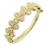 【送料無料】リングダイヤモンドリング指輪ゴールドダイヤモンドアンティークミル18kk1818金レディースダイヤ【楽ギフ_包装】