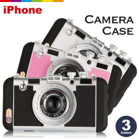 iPhone8 カメラ型 ケース ブラック ホワイト ピンク iPhone7ケース iPhone7 Plus ケース iPhone6s iPhone6 Plus iPhone SE ケース iPhone5 iPhone5s