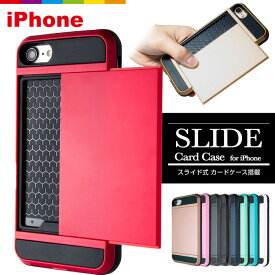 iPhone XR ケース iPhone8 iPhone11 Pro ケース iPhone7 plus XR XS Max iPhone11 Pro Max ケース スマホケース カード収納 スライド式 耐衝撃 二重構造 ハードケース iPhone SE iPhone6s iPhone6 iPhone7 iPhone5s 赤特集