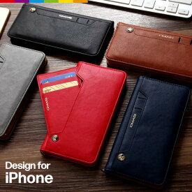 iPhone ケース iPhone8 手帳型 カード収納 スライド レザー スライドポケット スマホケース メンズ 財布 iPhone7 plus iPhoneXR iPhoneXS Max スマホケース iPhone8ケース iPhone6s 8plus 7plus iPhone X 6 スマホカバー シンプル おしゃれ 海外 ベルトなし musubo