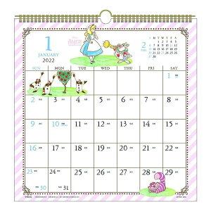 DISNEY カレンダー 2022年 壁掛け 水彩スケジュール ディズニー APJ キャラクター 書き込み シンプル 予定表 令和4年 暦 シネマコレクション 21clsc