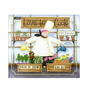 LANG カレンダー 2022年 壁掛け Love To Cook Lori Lynn Simms ラング カントリー フード インテリア 令和4年暦 シネマコレクション 21clsc