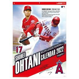 大谷翔平 カレンダー2022年 壁掛け MLB トライエックス スポーツ 令和4年暦 シネマコレクション