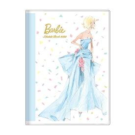 バービー 手帳 2022 B6 ウィークリー ブック ロバートベスト ブルー Barbie サンスター文具 キャラクター スケジュール帳 10月始まり 週間 ダイアリー 令和4年 手帖 シネマコレクション