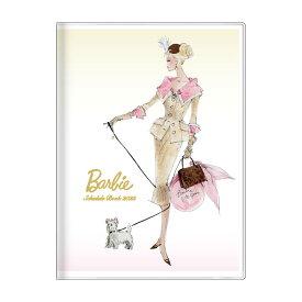 バービー 手帳 2022 B6 ウィークリー ブック ロバートベスト アイボリー Barbie サンスター文具 キャラクター スケジュール帳 10月始まり 週間 ダイアリー 令和4年 手帖 シネマコレクション