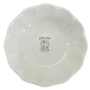 ドラえもん 輪花型 プレート S 50周年記念 リラックスタイム 小皿 マリモクラフト プレイマット アニメキャラクター グッズ シネマコレクション