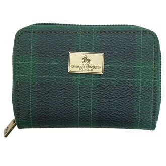 CAMBRIDGE UNIVERSITY POLO CLUB/ Cambridge University polo club 《 check 》 coin case ☆ coin purse mail order☆◆