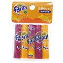 ファンタ 鉛筆 えんぴつキャップ5個セット オレンジ&グレープ サカモト 可愛い 文具 キャラクターグッズ通販 【メー…