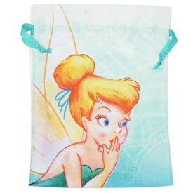 ピーターパン 巾着袋 トラベルきんちゃくポーチL ティンカーベル スモールプラネット 旅行仕分け袋 キャラクター グッズ 通販 シネマコレクション