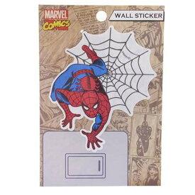 スパイダーマン ウォールデコステッカー ウォールステッカー スパイダーマン01 マーベル スモールプラネット カッコいい 壁デコシール キャラクター グッズ 通販 メール便可 [MARVELCorner]