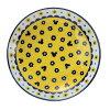 米老鼠餐具礼品套装面食板 5 件套波兰系列迪斯尼桑陶瓷 21.5 厘米 x 5 板礼品小玩意动漫漫画电影收藏