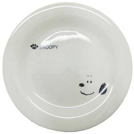 スヌーピー 中皿 磁器製 ケーキプレート シンプル フェイス ピーナッツ 金正陶器 直径20cm 日本製 食器 絵本キャラクター グッズ 通販 シネマコレクション