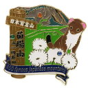 日本百名山 ピンバッジ 1段 ピンズ 苗場山 エイコー コレクションケース入り トレッキング 登山 グッズ 通販 【メール…