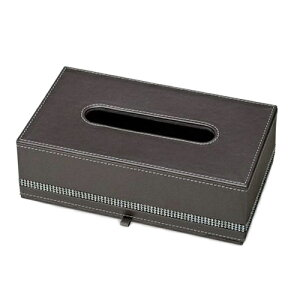 ティッシュケース ティッシュボックス スプレンダー レザーシリーズ PUレザー ラインストーン お洒落 ジュエリー ギフト インテリア 雑貨 取寄品 シネマコレクション