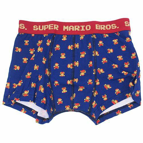 スーパーマリオ 男性用 下着 メンズ ボクサーパンツ MARIO nintendo スモールプラネット メンズインナー ギフト雑貨 キャラクターグッズ通販 【メール便可】【あす楽】シネマコレクション【ママ割】エントリーで全品ポイント5倍12/14朝10時まで