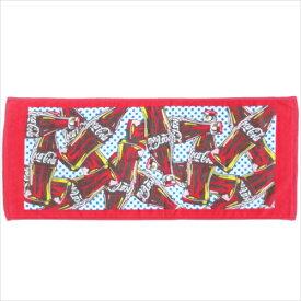 コカコーラ フェイルタオル プリント ロングタオル ボトル 犬飼タオル かわいい キャラクター グッズ メール便可 シネマコレクション
