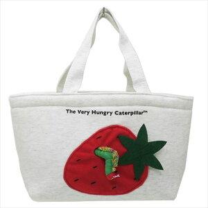 はらぺこあおむし ランチバッグ ミニトートバッグ いちご エリックカール サンアロー お弁当かばん 絵本キャラクター グッズ 通販 シネマコレクション