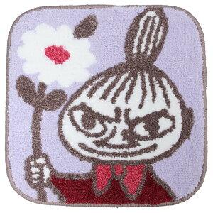 ムーミン ミニミニマット スクエアチェアシート 花を持つリトルミイ 北欧 丸眞 座布団 キャラクター グッズ 通販 シネマコレクション
