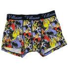 ディズニーヴィランズ 男性用 下着 メンズ ボクサーパンツ Villans ディズニー スモールプラ…